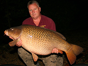 Colin with a stunning 52lb 12oz common