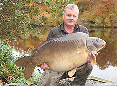 Colin with a 55lb 4oz mirror