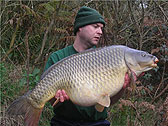 Colin Cutts with a stunning common