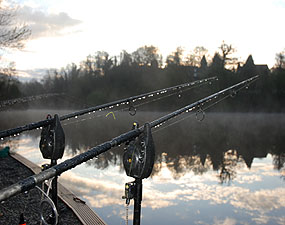 Early morning over the rods